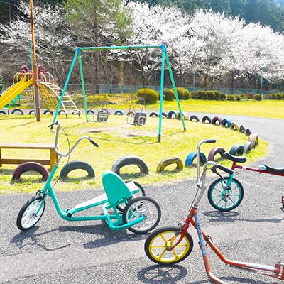 ちびっこ広場 特殊自転車