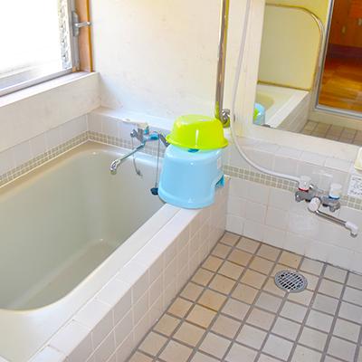 コテージ 浴室